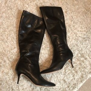 Cole Han knee high leather boots